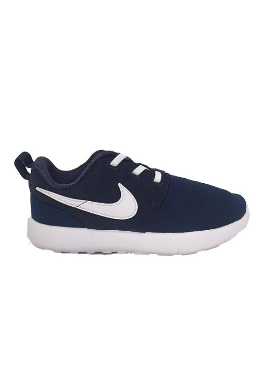 NIKE - ROSHE RUN MIDNIGHT NAVY/WHITE (PSV) 27467