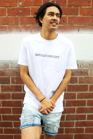 ROYALE CONCEPT - LEAFY TEE WHITE 34828