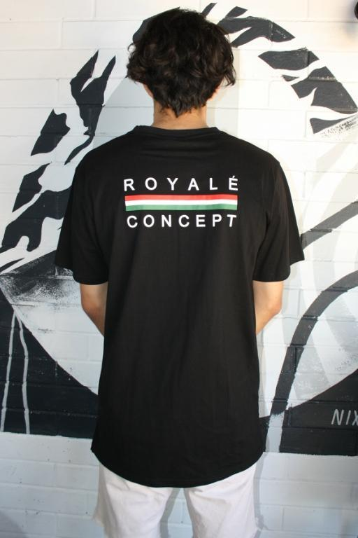 ROYALE CONCEPT - FLORENCE TEE BLACK 34701