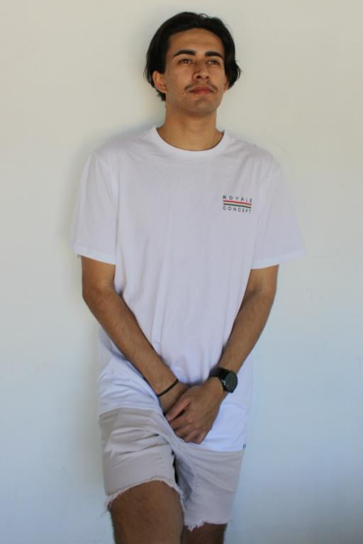 ROYALE CONCEPT - FLORENCE TEE WHITE 34701