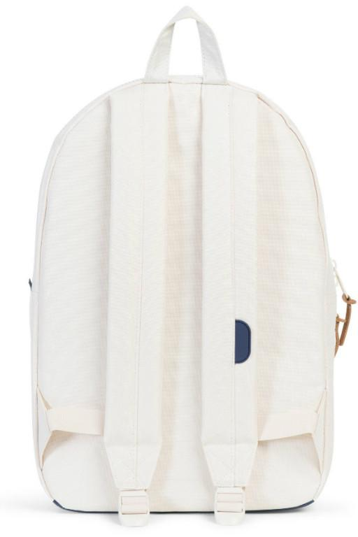 HERSCHEL - SETTLEMENT BACKPACK NATURAL/PEACOAT BLOCK PRINT 20191