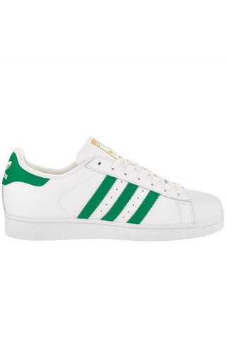 ADIDAS - SUPERSTAR FOUNDATION WHITE/GREEN 30668