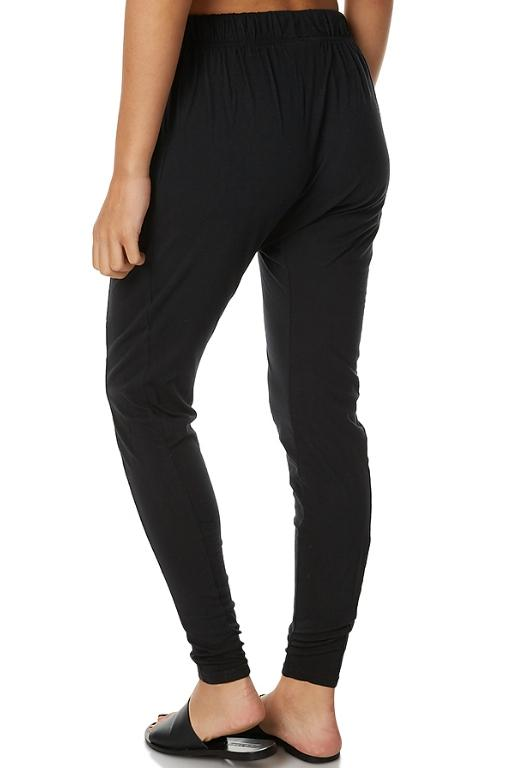 SILENT THEORY - FLUID PANT BLACK 32614