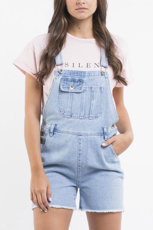 SILENT THEORY - RUGGED OVERALLS LIGHT BLUE 33511