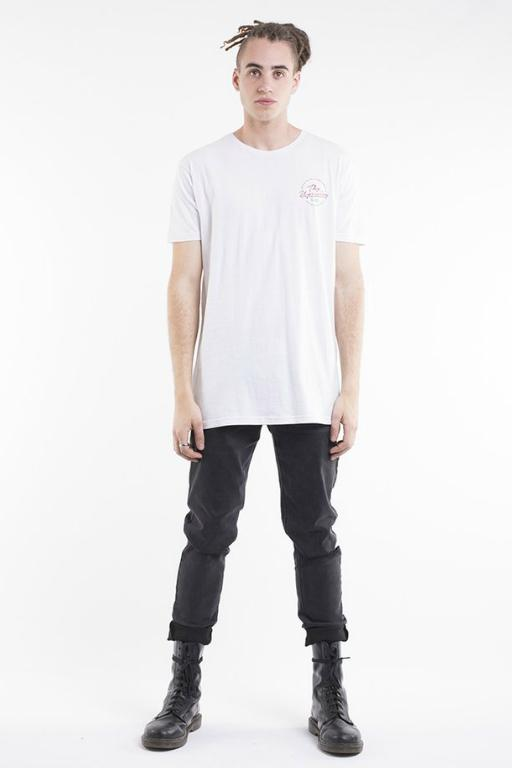 SILENT THEORY - SOLITUDE TEE WHITE 34009