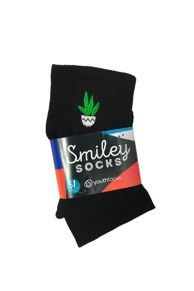 SMILEY SOCKS - SMILEY LADIES SOCKS 1 (POT PLANT) 34025