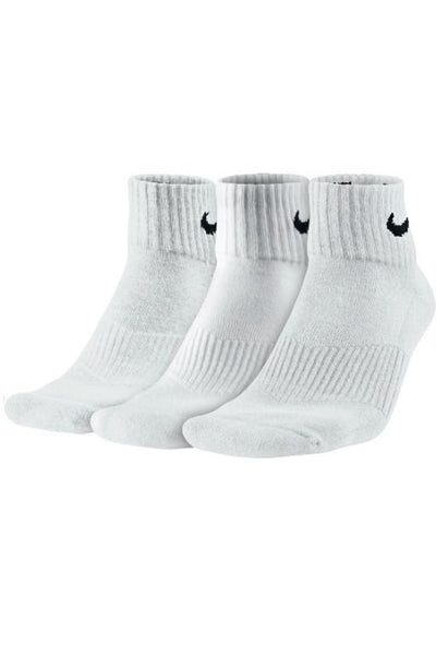 NIKE - COTTON CUSHION SOCKS WHITE/BLACK 30014