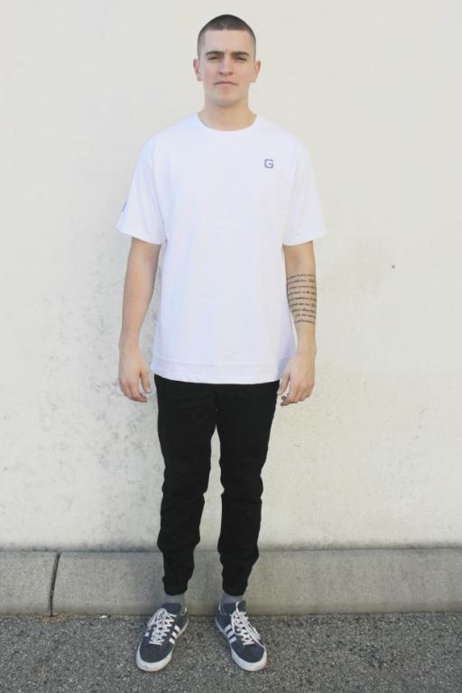 ST GOLIATH - SECONDS TEE WHITE 33880