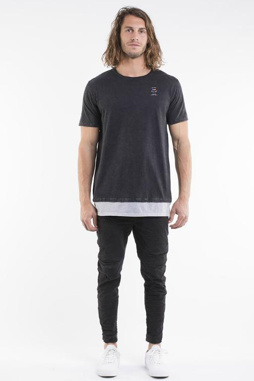 ST GOLIATH - STOOD TEE BLACK 33881