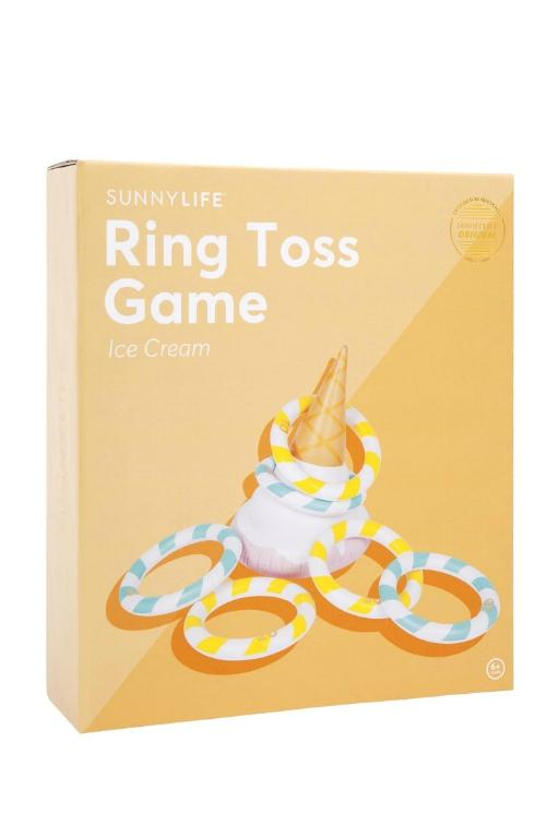 SUNNYLIFE - INFLATABLE RING TOSS ICECREAM 34444