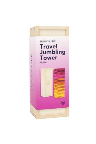 SUNNYLIFE - TRAVEL JUMBLING TOWER MALIBU 34729
