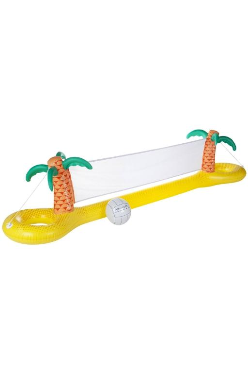 SUNNYLIFE - INFLATABLE VOLLEYBALL SET TROPICAL 34458