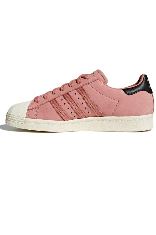 ADIDAS - WOMENS SUPERSTAR 80s ASH PINK 33161