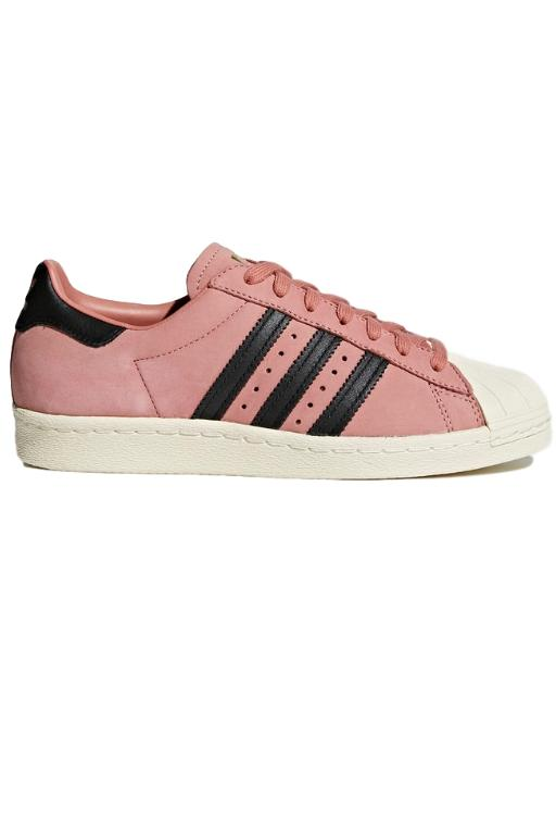 ADIDAS - WOMENS SUPERSTAR 80s ASH PINK 33161 – Transit Clothing f7d74d3fb2