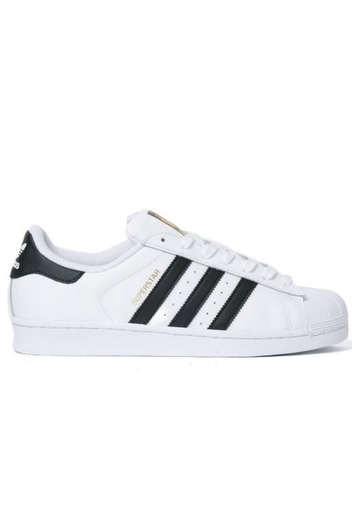 ADIDAS - SUPERSTAR WHITE/BLACK 28138