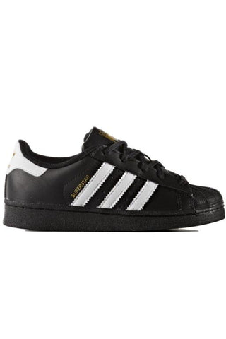 ADIDAS - SUPERSTAR FOUNDATION BLACK/WHITE 29317