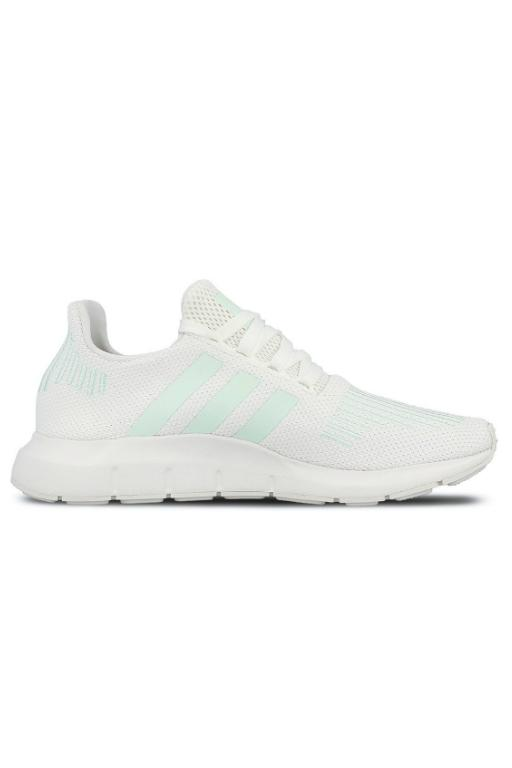 ADIDAS - SWIFT RUN W WHITE/GREEN 32036