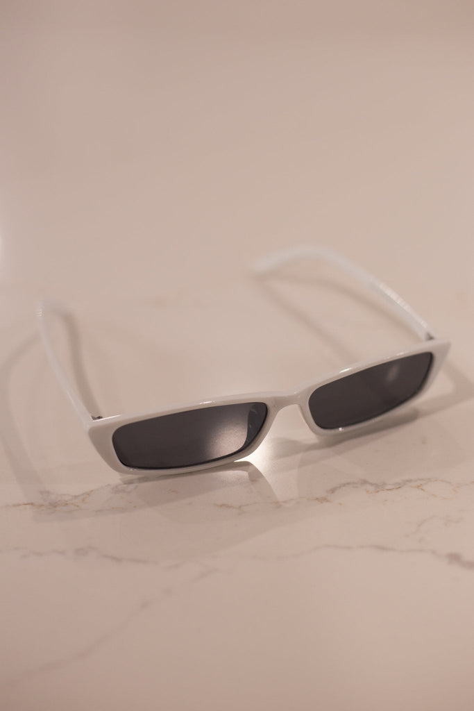 ASHA - WEST COAST SUNGLASSES WHITE 34312