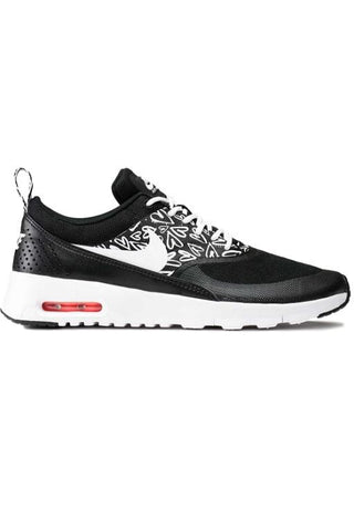 NIKE - AIR MAX THEA (YOUTH) PRINT BLACK/WHITE-LAVA GLOW 29126