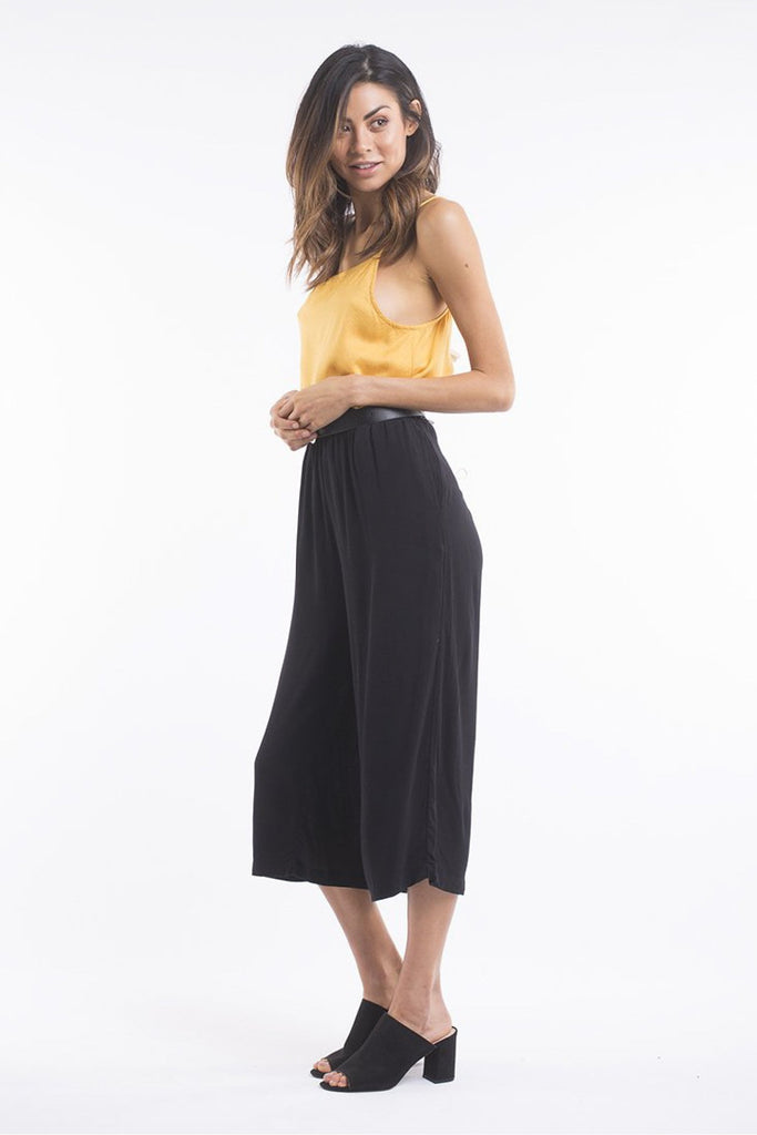 ALL ABOUT EVE - UNDERCURRENT CULOTTE BLACK 32975