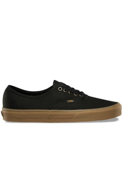 VANS - AUTHENTIC (LIGHT GUM) BLACK 31943