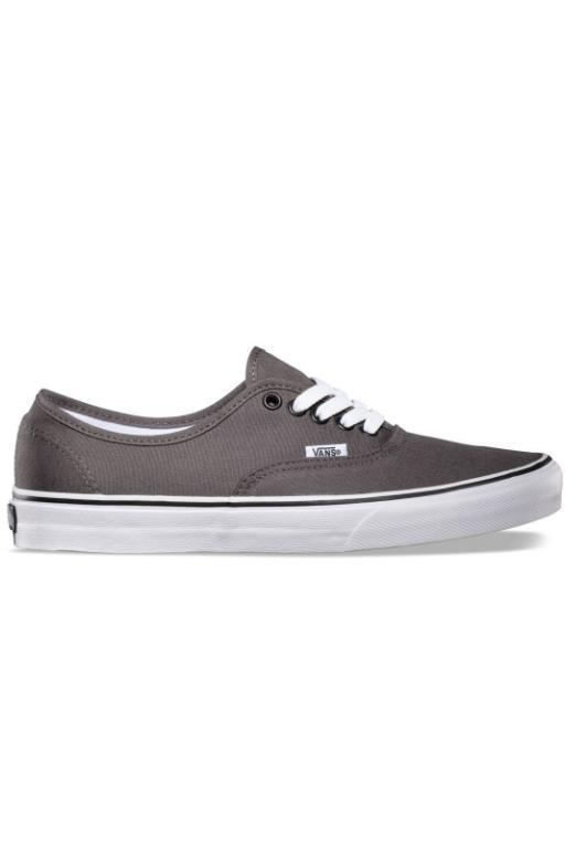 VANS - AUTHENTIC PEWTER/BLACK 18421