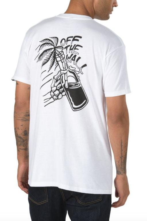 VANS - OFF THE WALL COCKTAIL SS TEE WHITE 33745