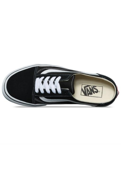 VANS - OLD SKOOL MULE BLACK/WHITE 33719