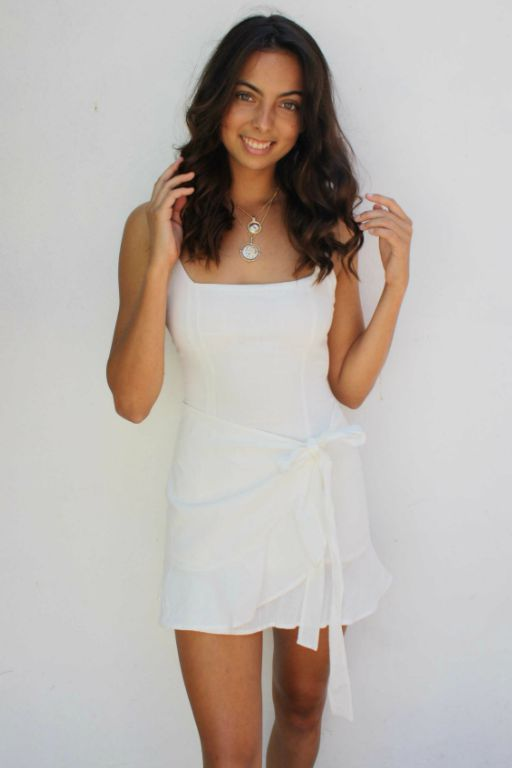 LUVALOT - ATLANTIS 1 DRESS WHITE 34899