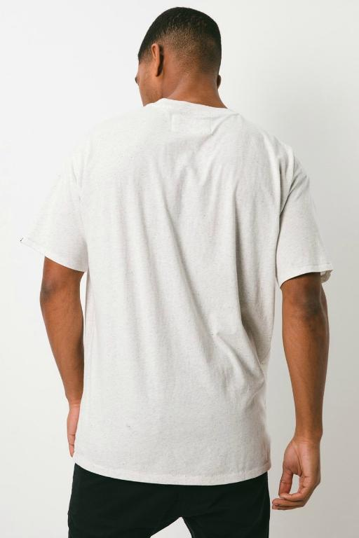 ZANEROBE - BUSINESS BOX TEE WHITE MARLE 34056