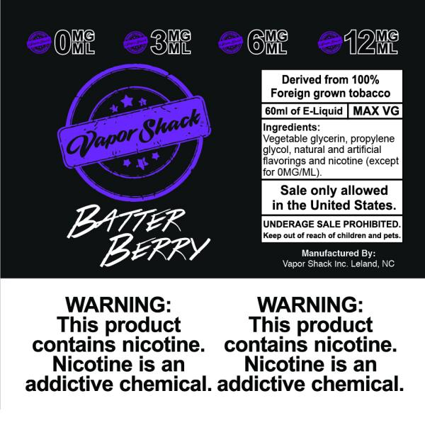 Zeta Vape Batter Berry