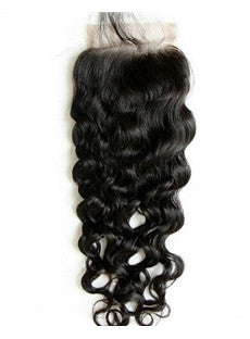 PURE Natural Curly Lace Closure (4x4)