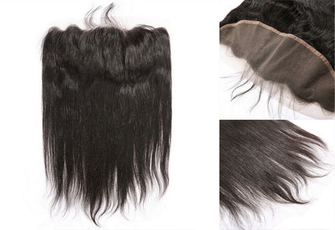 Natural Straight Lace Frontal Closure (13x4)