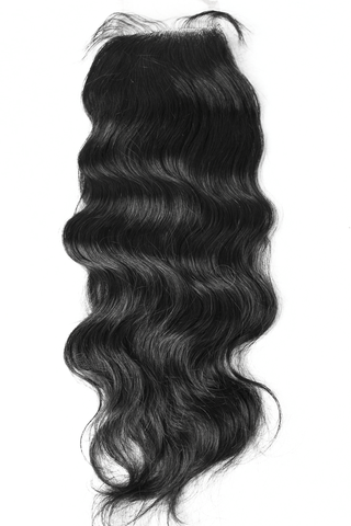 PURE Natural Wave Lace Closure (4x4)