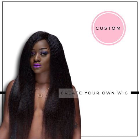 Buttah Baby™ Create Your Own Wig