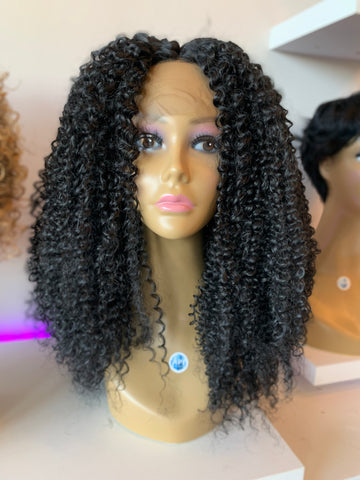 """Sista Girl"" Synthetic Front Lace Wig"