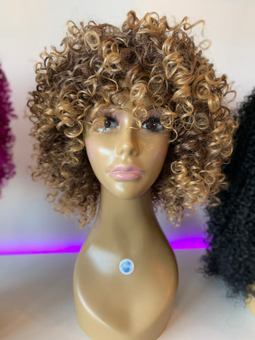 """Sandy"" Synthetic Wig"