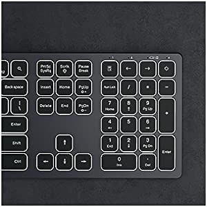 IWG-WJK67FGT Illuminated Keyboard Space Gray