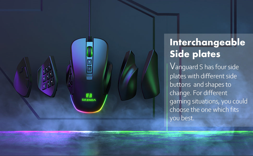 YC-YJ101 Vanguard S Programmable RGB Gaming Mouse