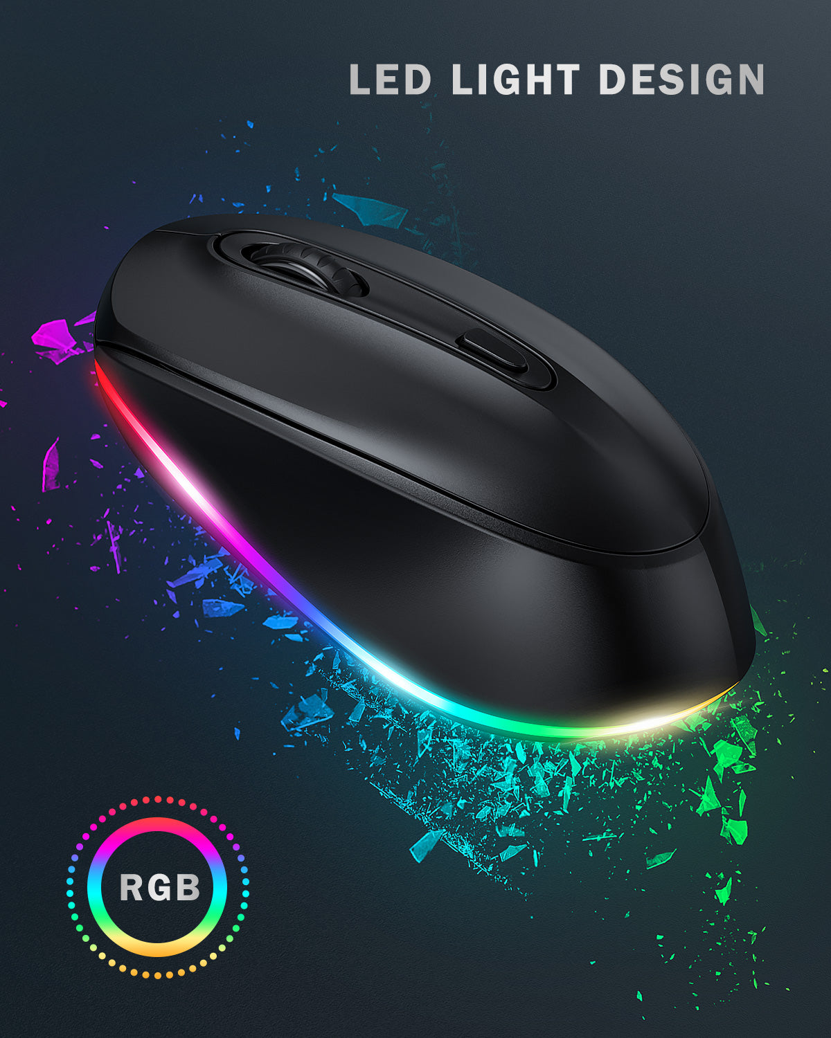 IWG-FGM LED Wireless Mouse