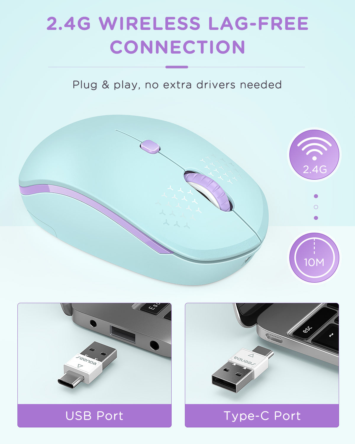WGSB-012A Rechargeable Wireless Mouse