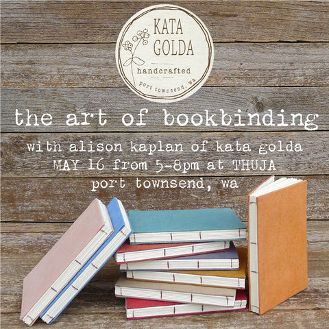 WORKSHOP: The Art of Bookbinding