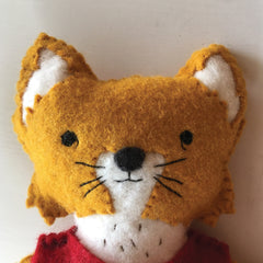 custom fox plush pal