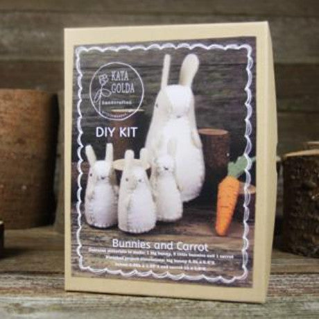 DIY kit- bunnies and carrot