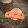 wool felt hair clips