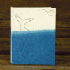 indigo hand-bound journal: whale tale