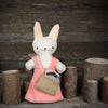 little linen bag (finger puppet accessory)
