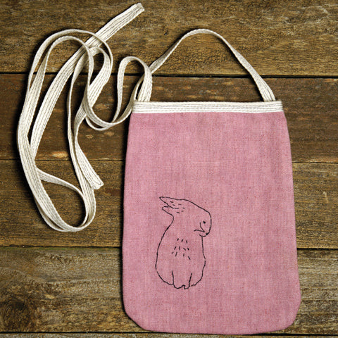 pocket purse: rabbit