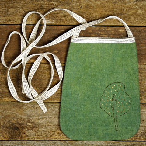 pocket purse: tree