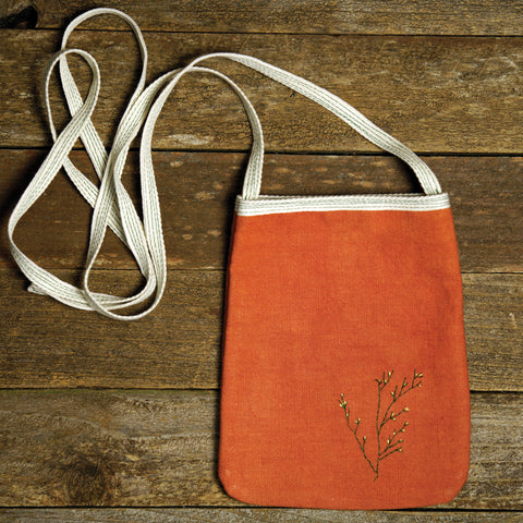 pocket purse: twigs